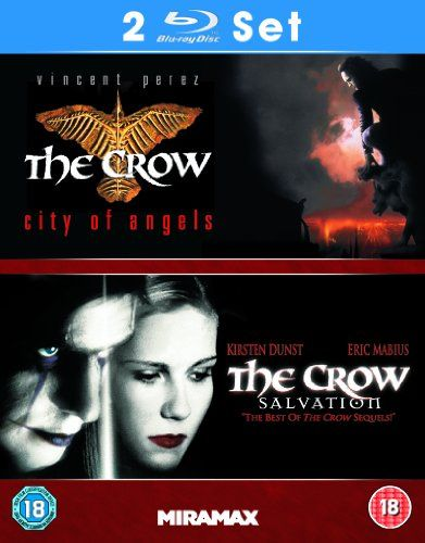 The Crow City Of Angels The Crow Salvation Blu Ray Optimum Home City Of Angels Crow Salvation