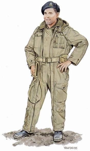 Trooper, 29th Armoured Reconnaissance Regiment (The South Alberta Regiment), 1944-45