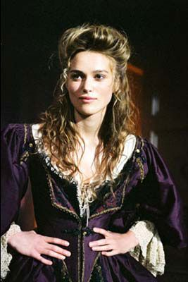 Elizabeth's plum dress from Pirates of the Carribean: Curse of the Black Pearl