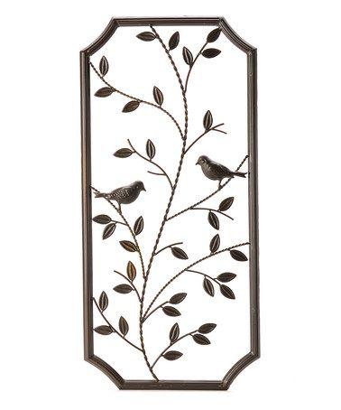 Another great find on #zulily! Iron Leaf & Vine Wall Art #zulilyfinds