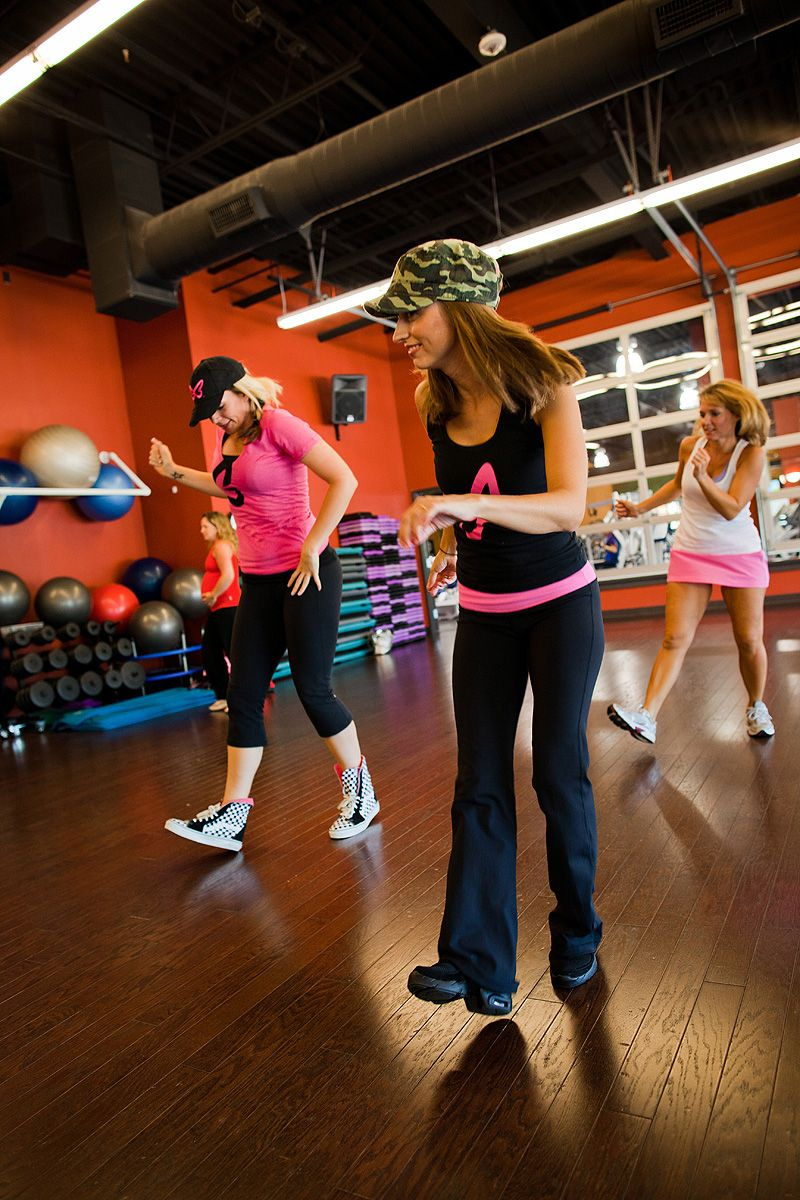 Dance fitness have fun working out get it girls