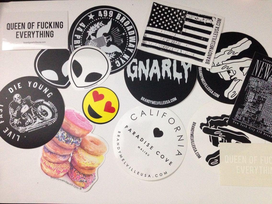 Bumper sticker creator canada - Brandy Melville Stickers Haganspinterest