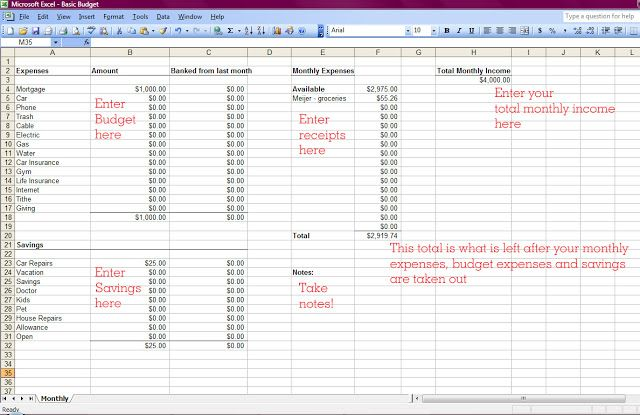 How To Make A Budget Budgeting Excel Budget Monthly Budget Excel