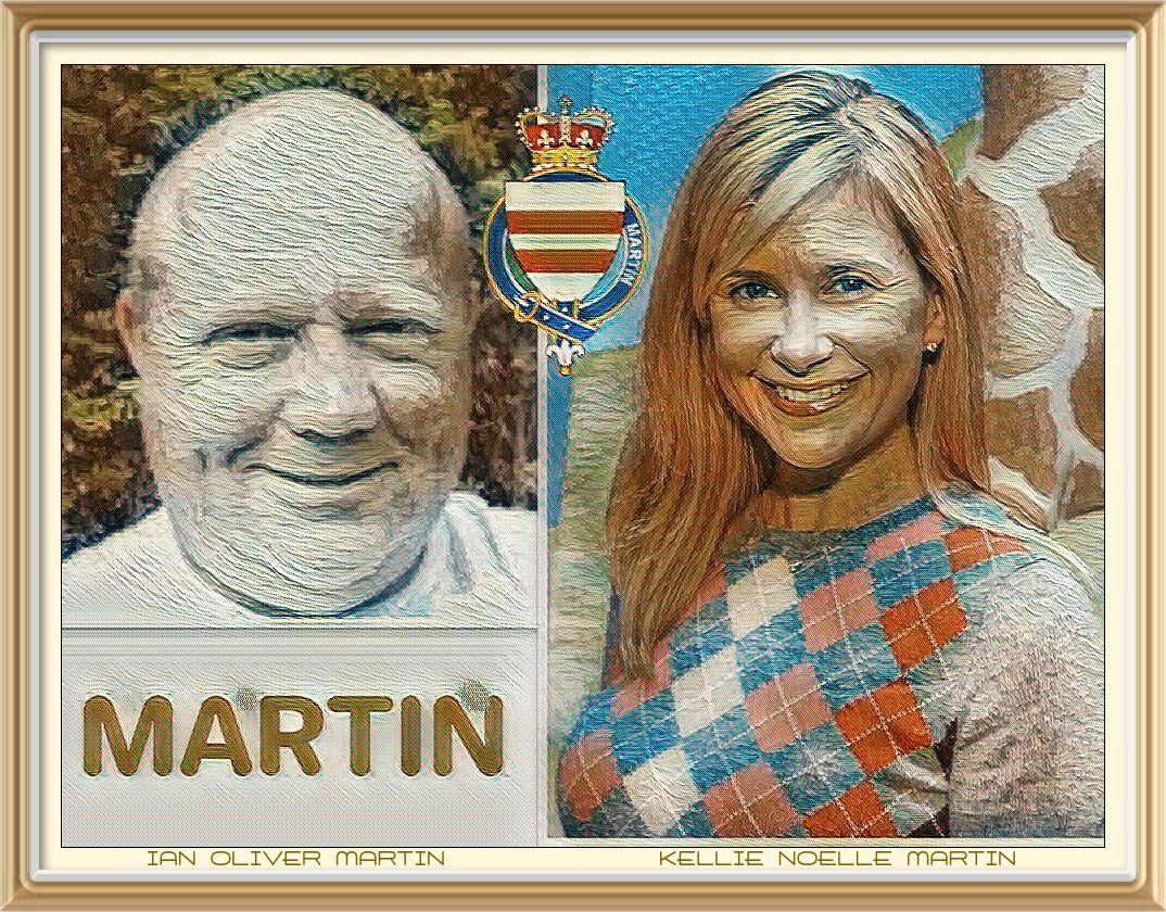 KELLIE NOELLE MARTIN et IAN OLIVER MARTIN