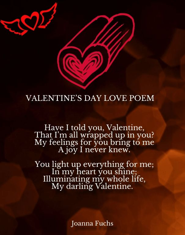 Valentines Day Short Love Poems Romantic Poems For Her Pinterest