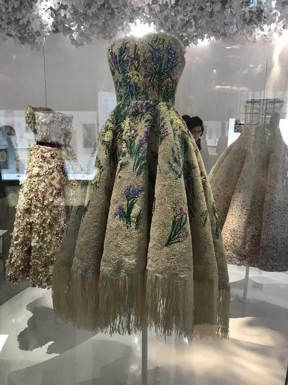 Raffia By Dior At The Museum Of Decorative Arts Paris Fashion