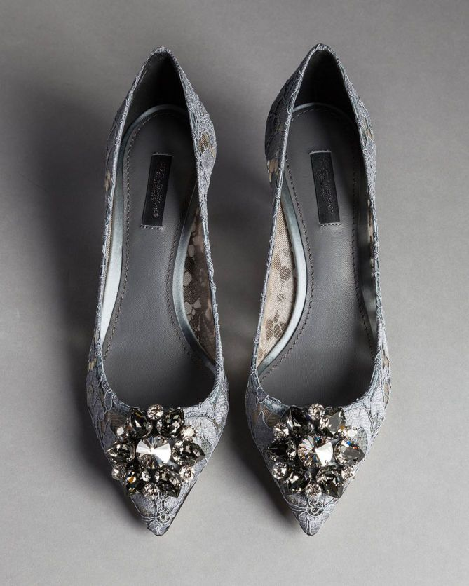 Belluci pumps - Grey Dolce & Gabbana sPu38