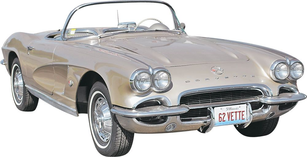 1/25 1962 Corvette Roadster 2 'n 1 Plastic Model Kit