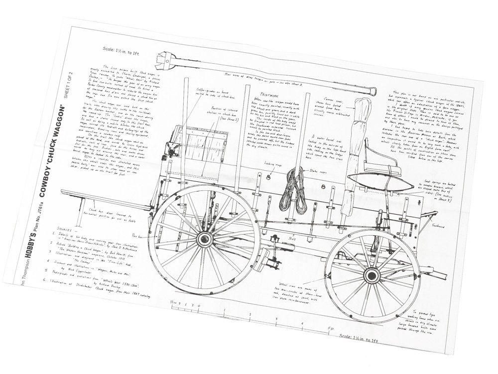 Chuckwagon Plans Historic Vehicle Plans