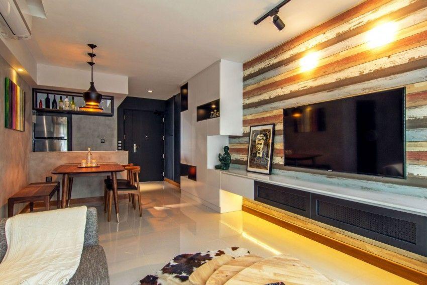 Industrial apartment located in singapore designed by vievva designers