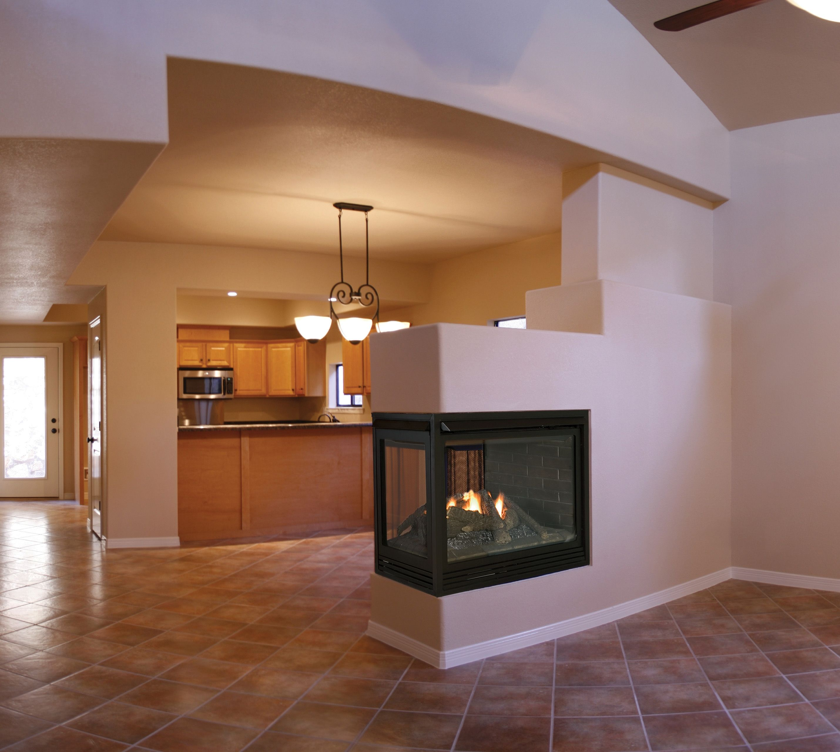 this is our trimont see thru pier direct vent gas fireplace for rh pinterest com