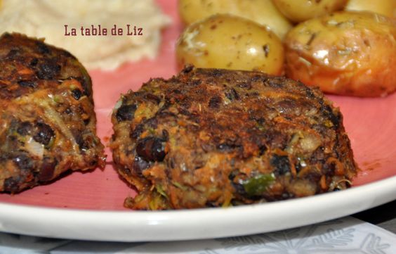 Galettes de haricots Azukis et légumes d'hiver de La-Table-de-Liz