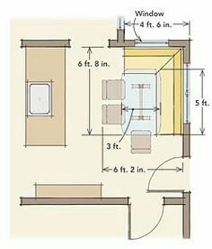 Example Of Built In Bench Dimensions For Reference Dining Nook Dining Room Seating Living Room Corner Decor
