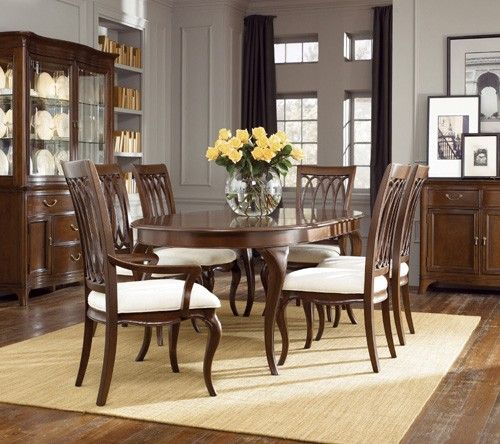 American Drew Cherry Grove New Generation Dining Room Suite Ad 091