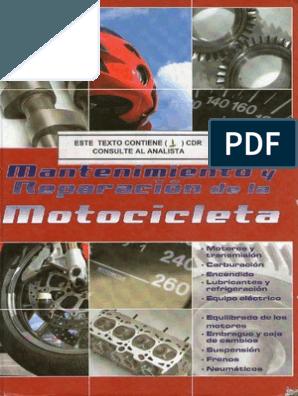 Mantenimiento Y Reparacion De La Motocicleta Motorcycle Wiring Honda Cbr Honda