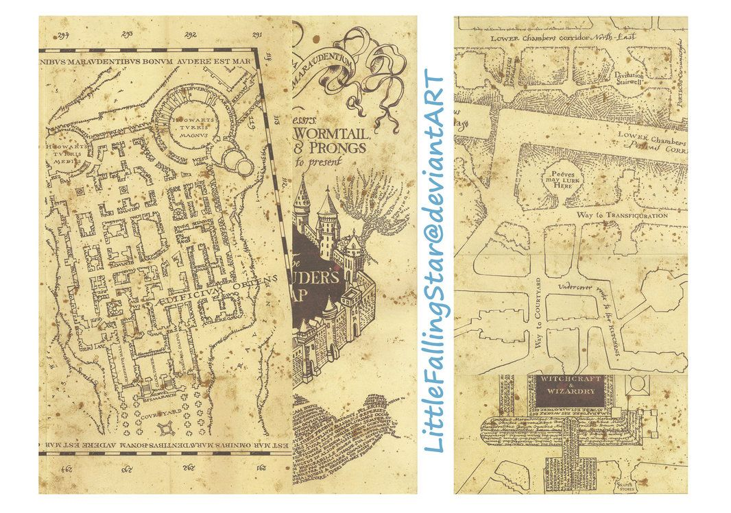picture regarding Harry Potter Marauders Map Printable referred to as This is a reproduction of The Marauders Map, 36 scans sched
