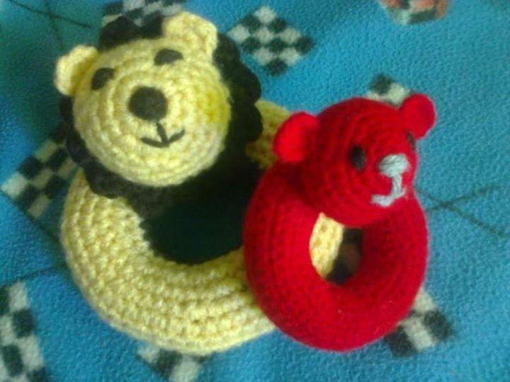 Sonajeros crochet