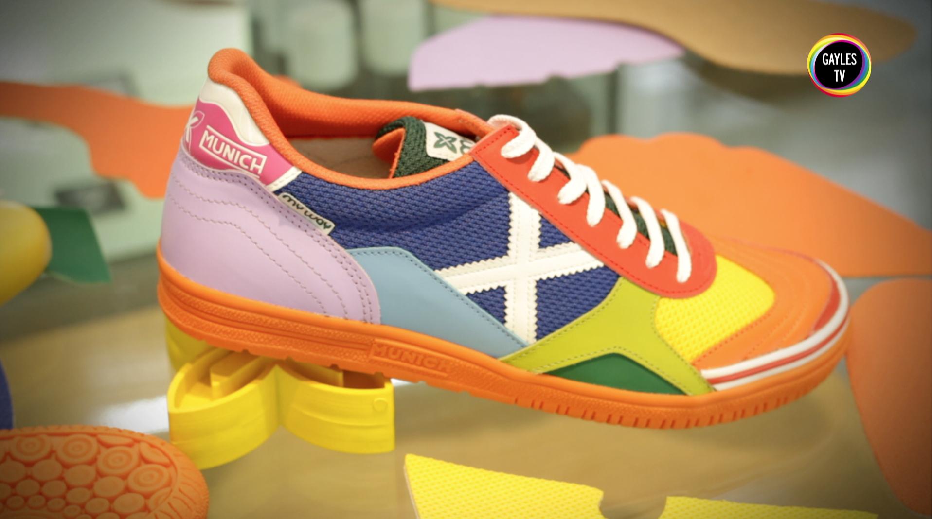 Reportaje Munich  Detalle de las zapatillas de MUNICH en nuestro reportaje  sobre la marca. En GAYLES.TV b5b29fd259727
