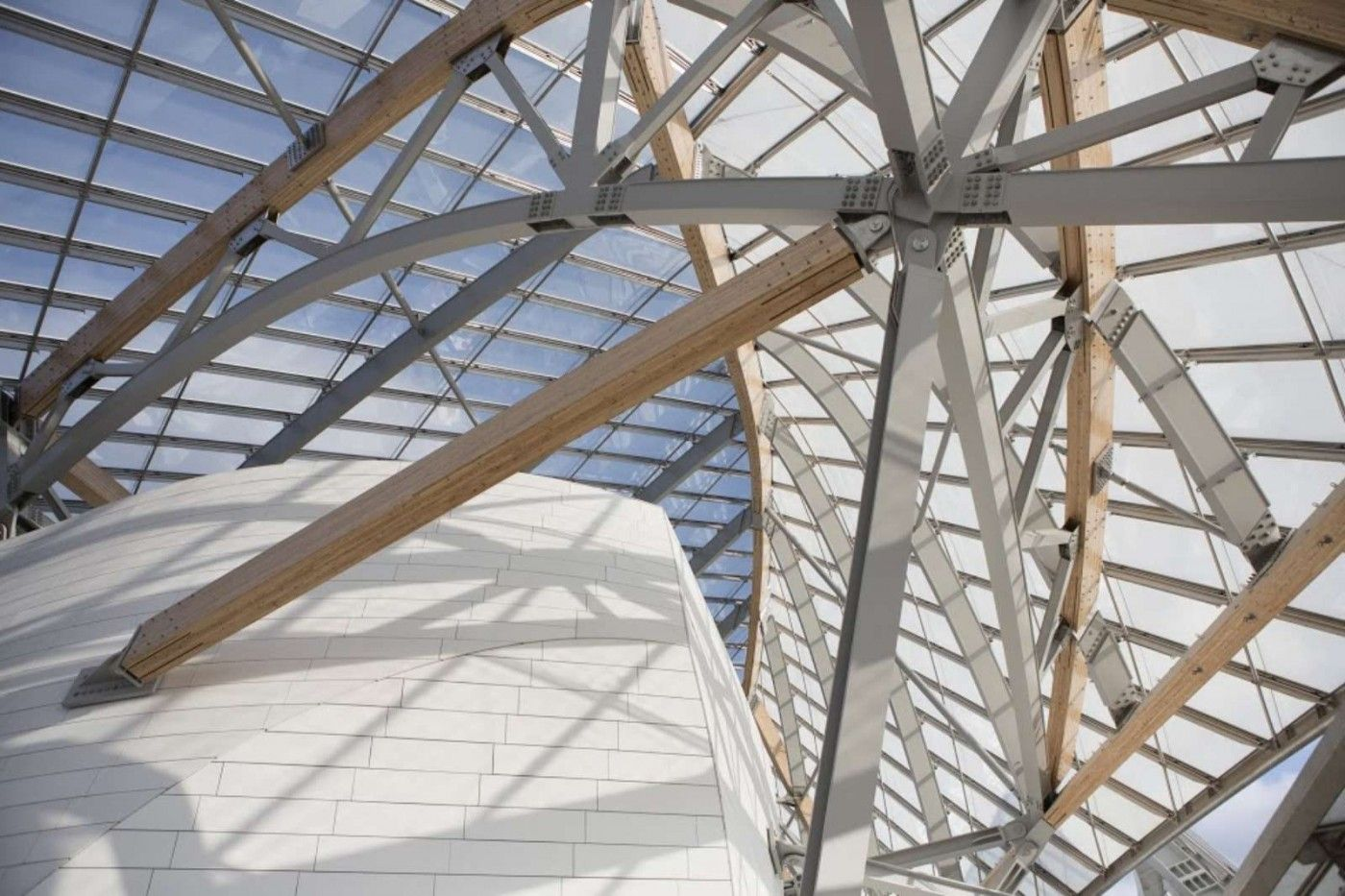 Foundation Louis Vuitton by Frank Gehry in Paris, France