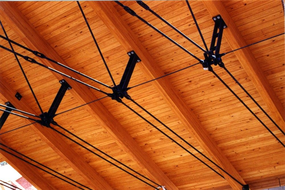 Trinity College Roof Truss Design Steel Trusses Timber Architecture