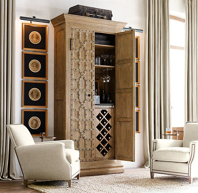 ... Cabinet:Inspired By A Late 17th Century Design From Spainu0026#39;s  Andalusia Region, Our Cabinets Capture The Intricate Geometric Patterning  And Exuberant ...