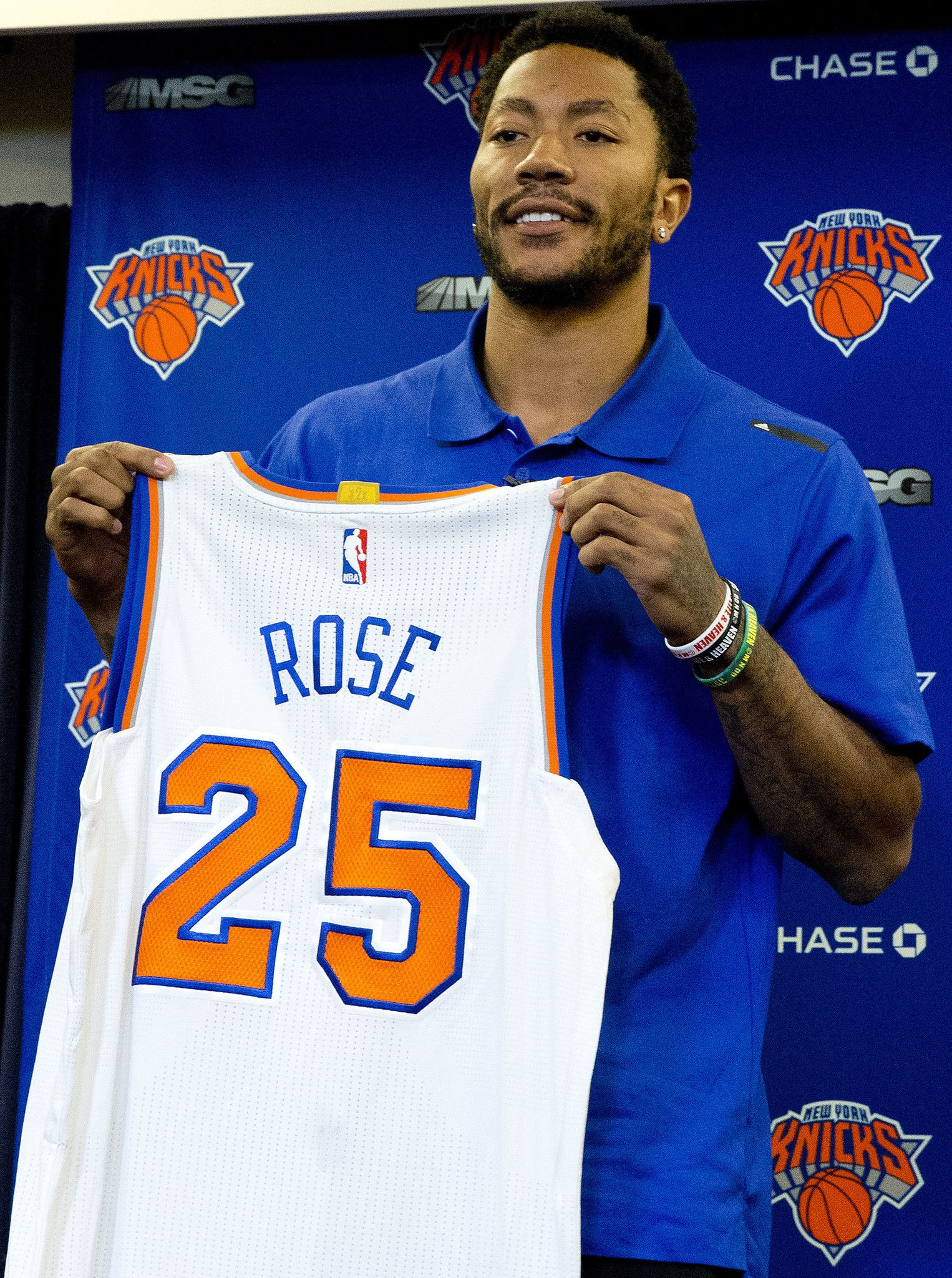 Derrick Rose On Joining Knicks It Still Dont Feel Real