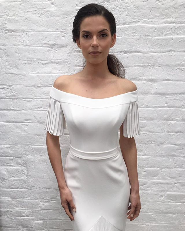 Beautiful Off The Shoulder Wedding Dress Nouveau By