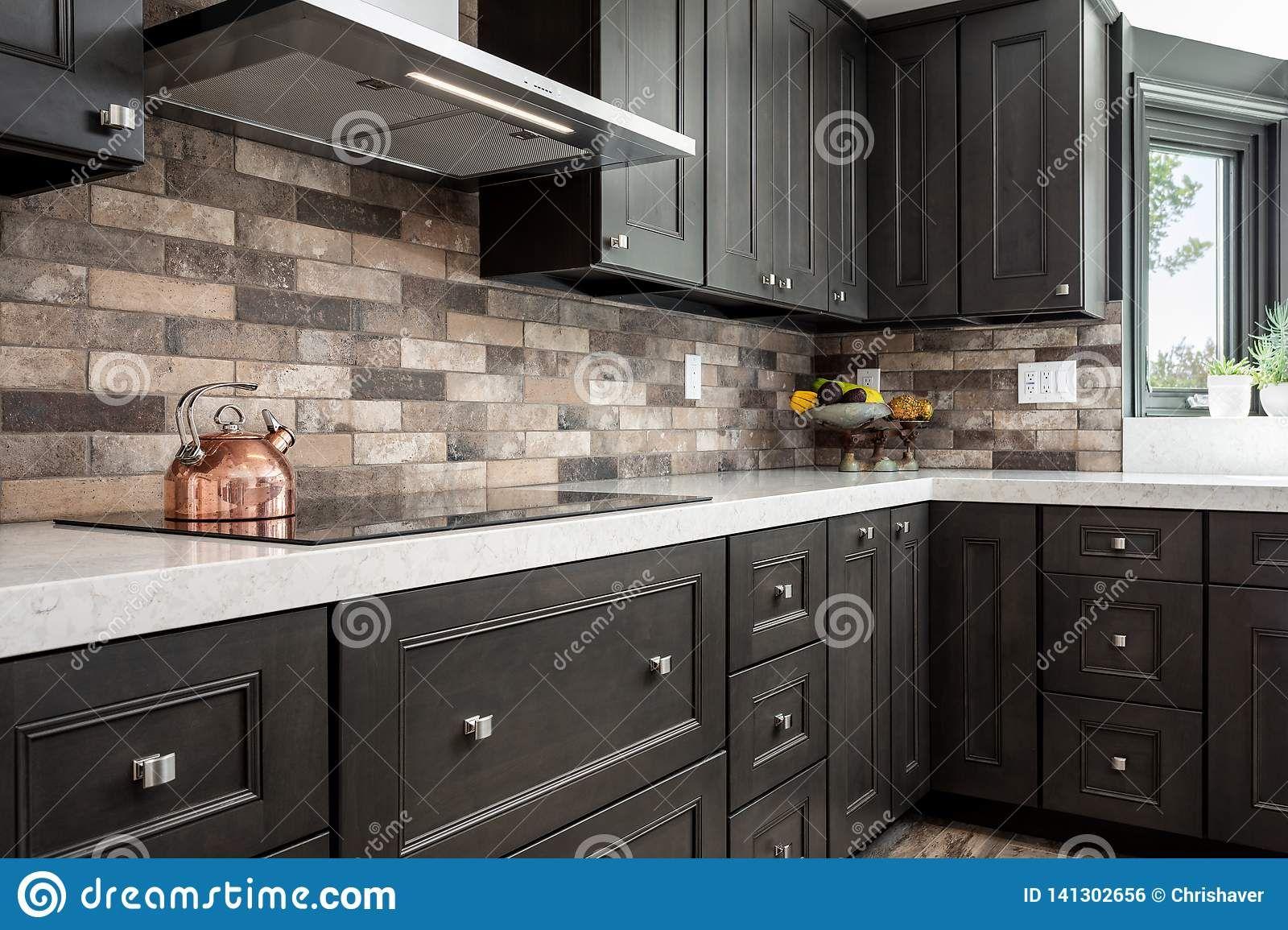 Dark Kitchen Cabinets En 2020