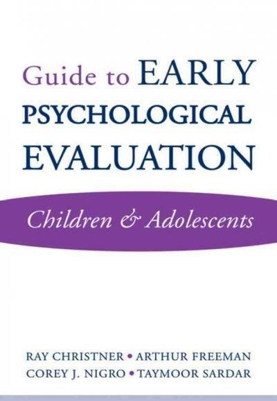 Guide to Early Psychological Evaluation Children \ Adolescents - psychological evaluation