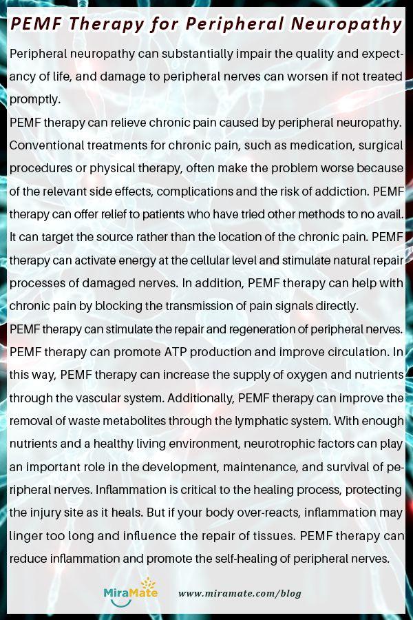 Pemf Therapy For Peripheral Neuropathy Peripheral