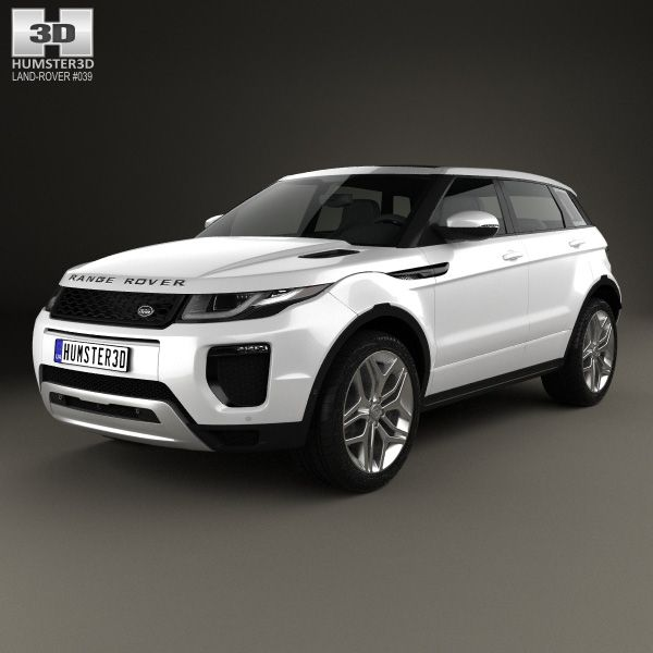 Land Rover Range Rover Evoque 5-door 2015 3d Model From
