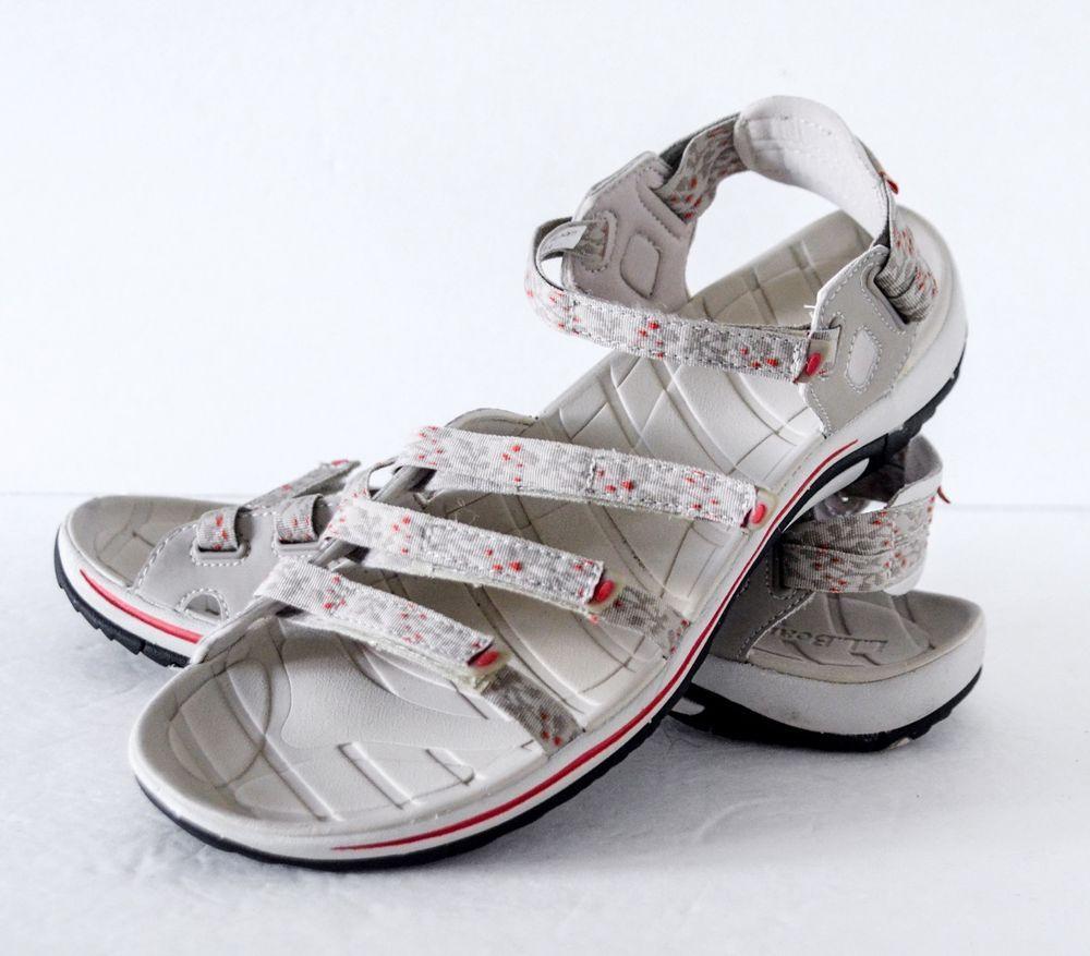 075252a6976e L.L. Bean Women s Discovery (Soft Sand) Sandals Size 11