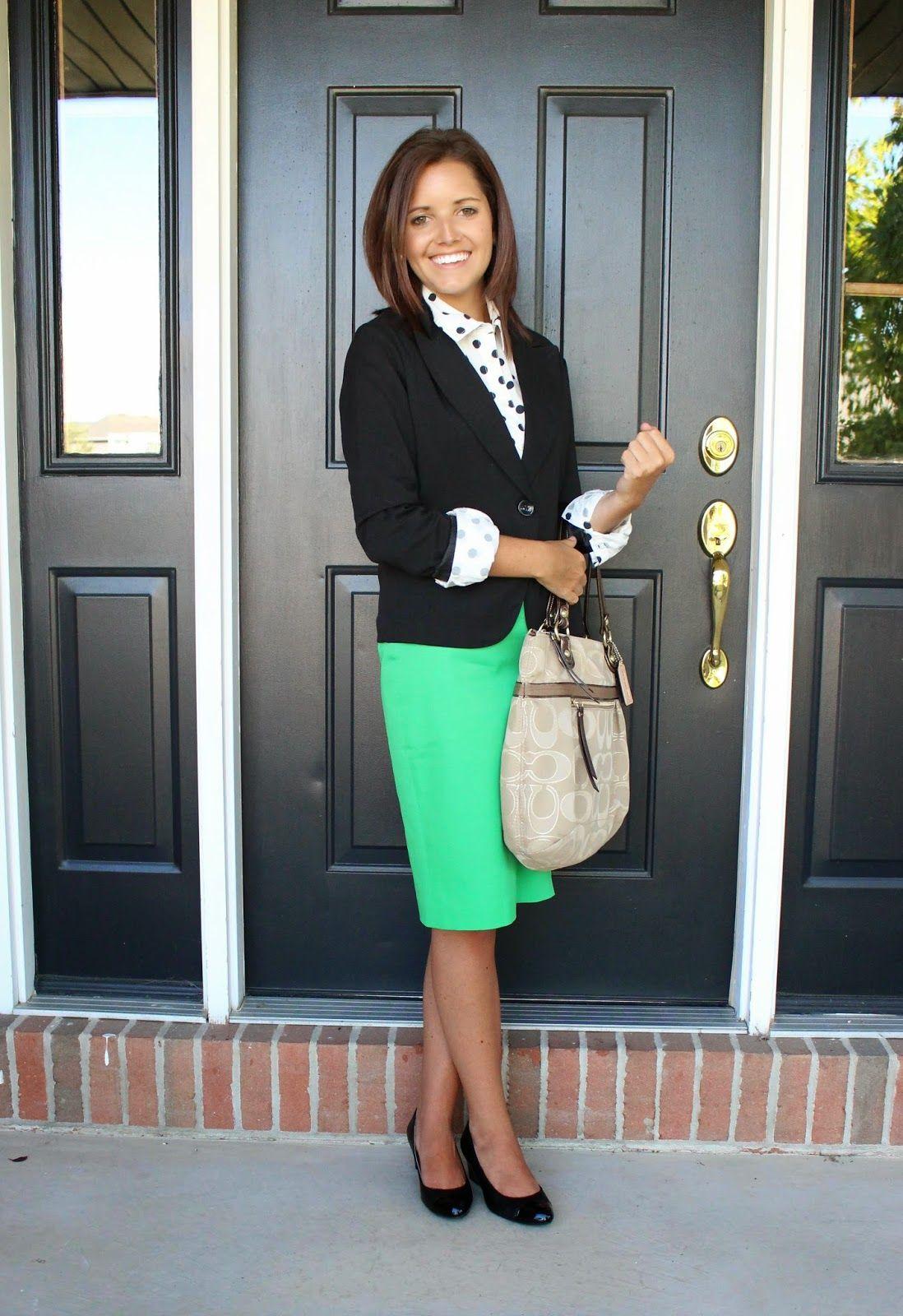 how to dress for a teacher interview