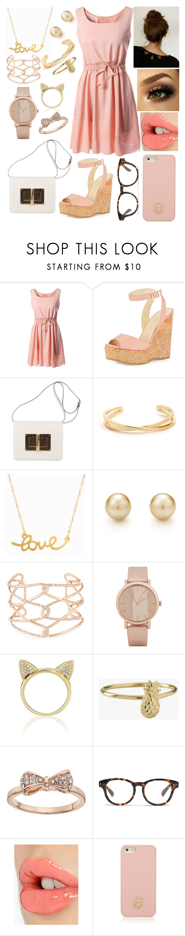 |Baby say yeah and let me kiss you| by mmckenna30 on Polyvore featuring Jimmy Choo, Tom Ford, Minnie Grace, Alexis Bittar, ALDO, LC Lauren Conrad, Aamaya by priyanka, Tory Burch, Madewell and Charlotte Tilbury
