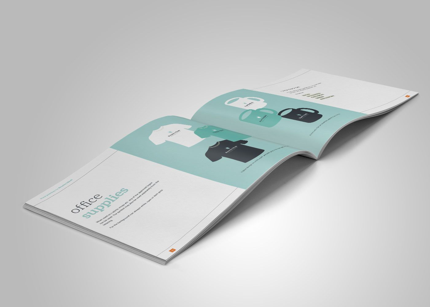 Template for a 44 pages brand book made in Indesign. | brand ...
