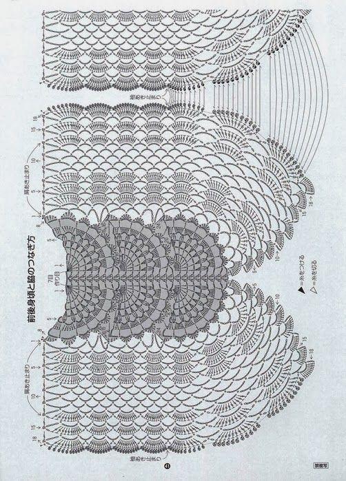 Crochetemoda Blog: Blusa de Crochet   Clothes:on big central mtv ...