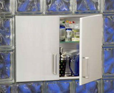 Lasertron manufacturers recessed wall cabinets