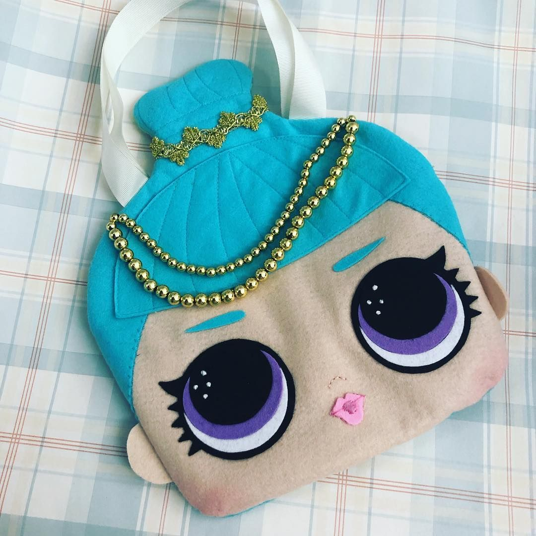 Mochila saco Personalizada Boneca LOl