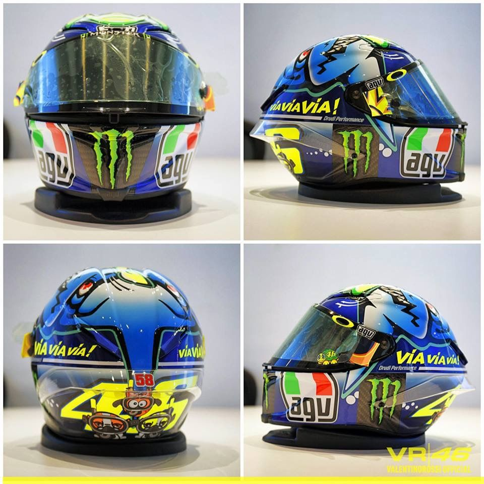 Valentino Rossi - Helmet Misano 2015  75d8bd7e9d100