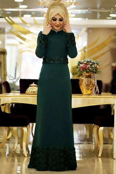 e80c3a4fae446 tesettür abiye elbise modelleri genç - Google'da Ara | giyim ...