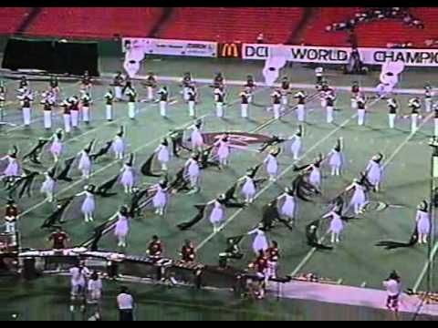 89 Vanguard   great show with some awesome drill moves  A