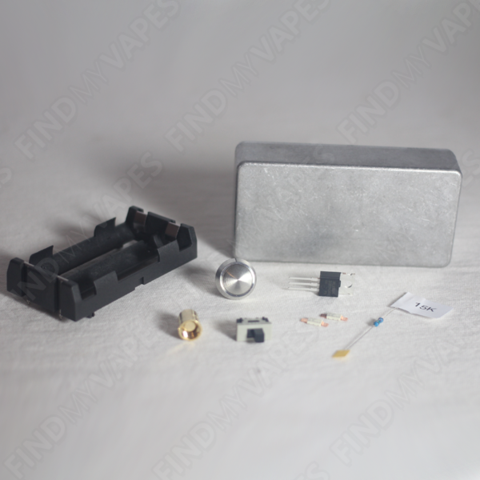 Diy Unregulated Dual 18650 Box Mod Kit Find My Vapes   #1