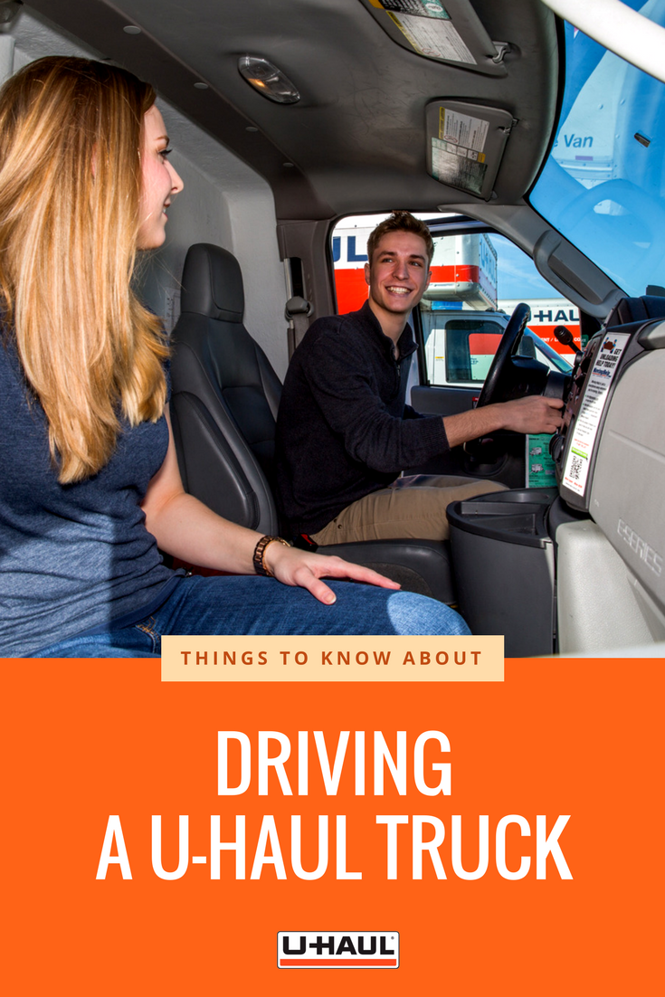 Driving A Moving Truck Take Time To Familiarize Yourself With The Vehicle Controls For A Safe Drive Click Through For More Dri U Haul Truck Moving Truck Haul