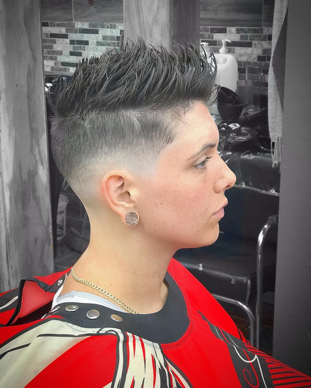 31+ Fade haircut for girls ideas in 2021