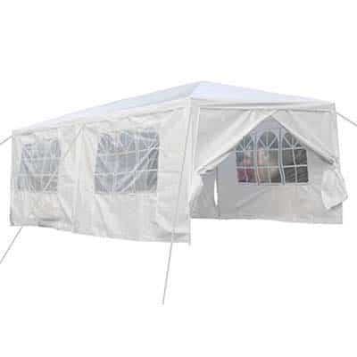 qisan canopy tent carport with sidewalls