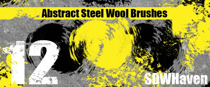 Abstract Steel Wool - Download  Photoshop brush http://www.123freebrushes.com/abstract-steel-wool/ , Published in #GrungeSplatter. More Free Grunge & Splatter Brushes, http://www.123freebrushes.com/free-brushes/grunge-splatter/ | #123freebrushes