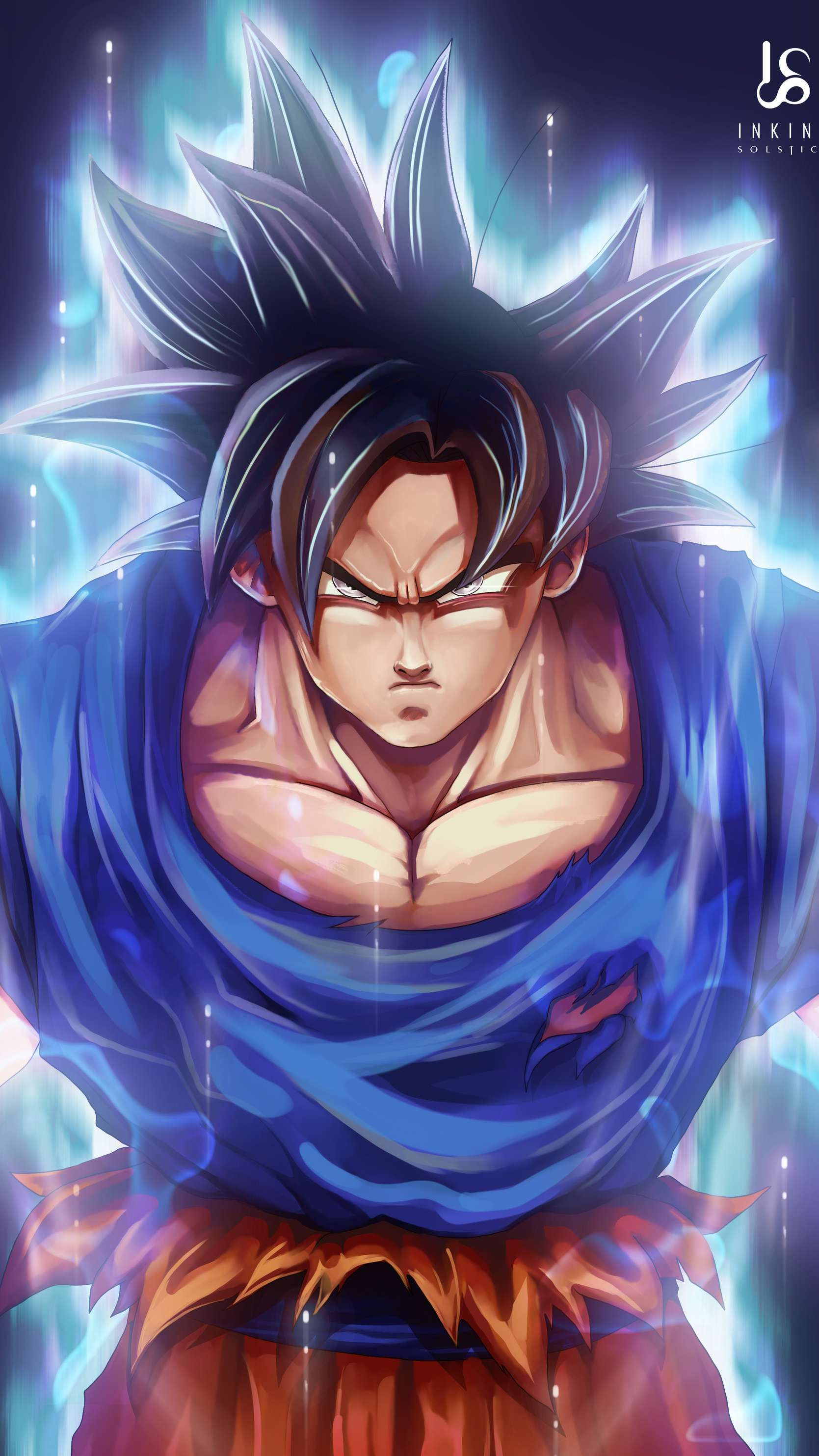 Goku Dragon Ball Z Wallpaper - iPhone Wallpapers