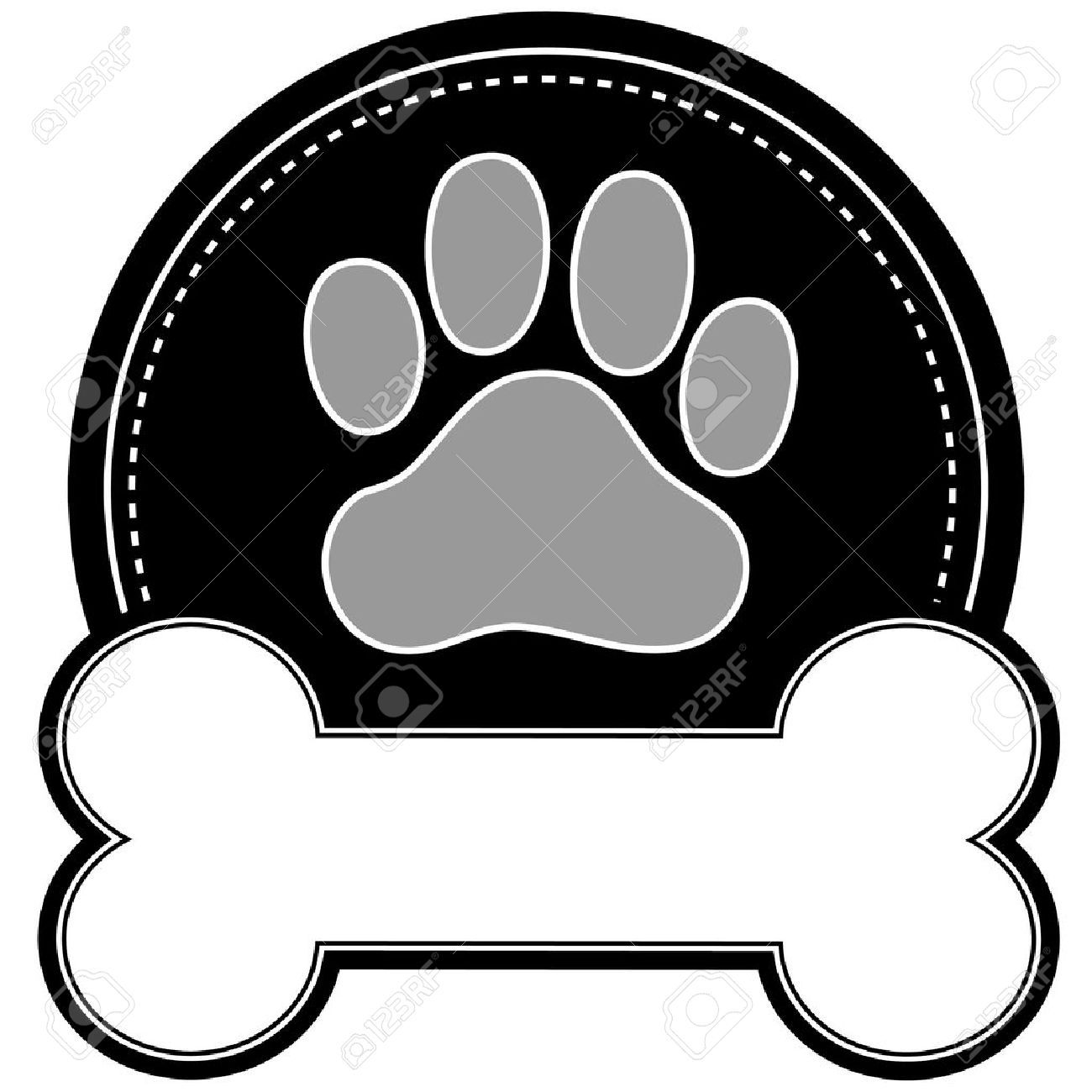 Image result for flower pattern for sewing embroidery printables | Paw  print clip art, Dog paw print, Dog paws