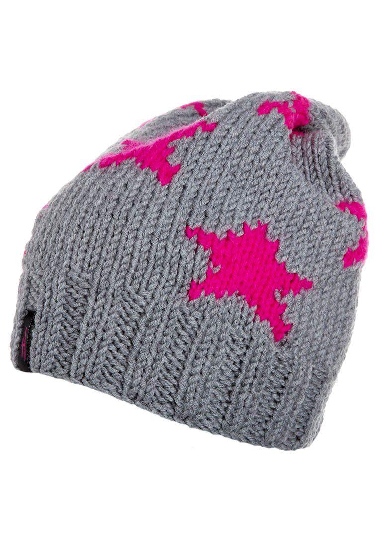 Gorro Grey Neon Pink Pinterest