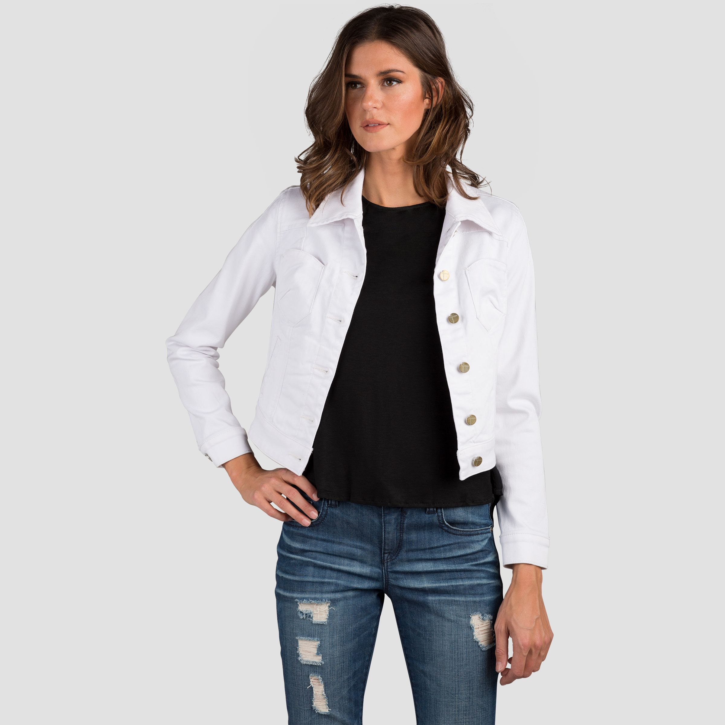 Ready To Ride In Our Vespa Optic White Cropped Denim Jacket White Cropped Jacket Cropped White Jeans Denim Jacket Women [ 2400 x 2400 Pixel ]